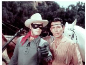 Lone Ranger and sidekick, Tonto